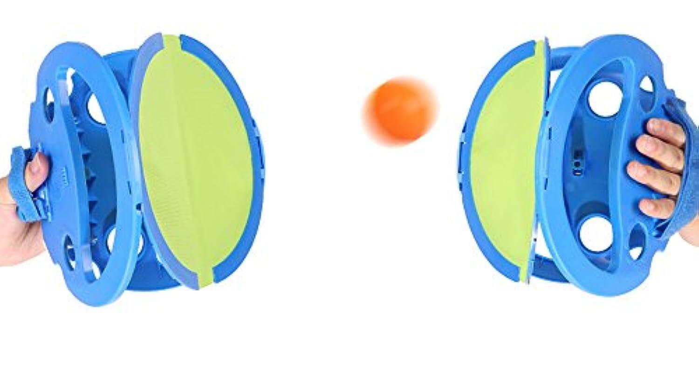 【世界で大人気!新感覚キャッチボールゲーム】ピンポンキャッチャー2個セット プレゼント スポーツ ダイエット 健康増進 ストレス解消 フィットネス 屋内 屋外 玩具 ピンポン玉4個付き