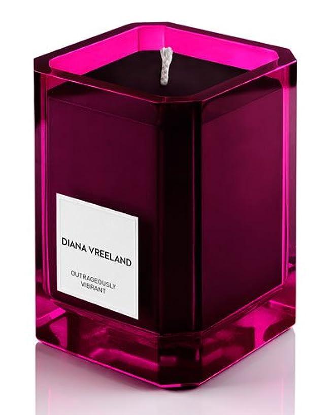 ゴミ無人起業家Diana Vreeland Outrageously Vibrant(ダイアナ ヴリーランド アウトレイジャスリー ヴィブラント)9.7 oz (291ml) Candle(香り付きキャンドル)