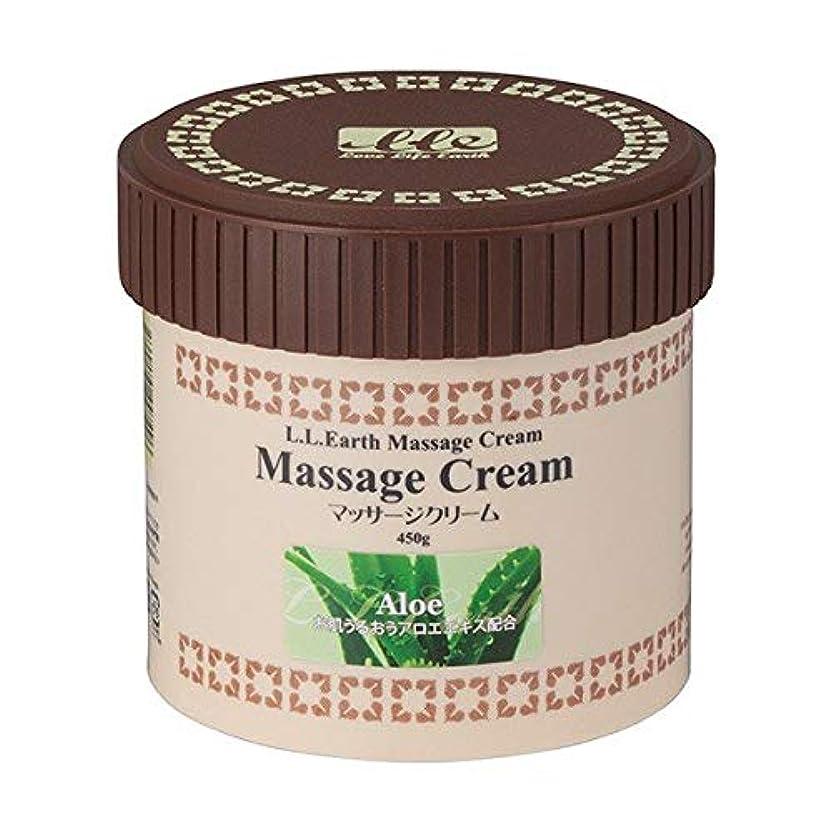 LLE ミネラルマッサージクリーム 業務用 450g (アロエ) マッサージクリーム エステ用品 サロン用品 リラクゼーション