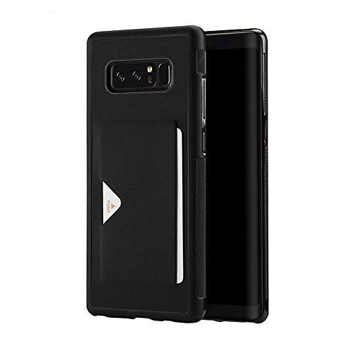 Samsung Galaxy Note 8 ケース 薄型 ICカード収納 T...