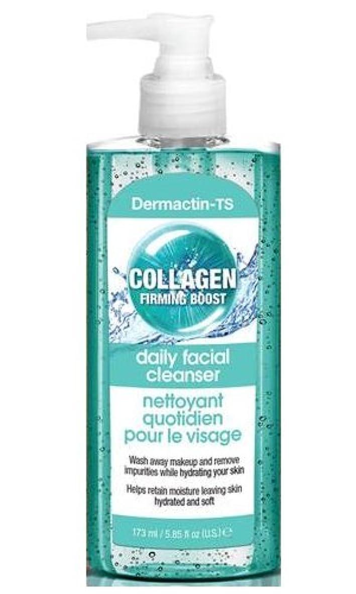 脅威赤字かき混ぜるDermactin-TS コラーゲンフェイシャルクレンザー165g (4パック) (並行輸入品)