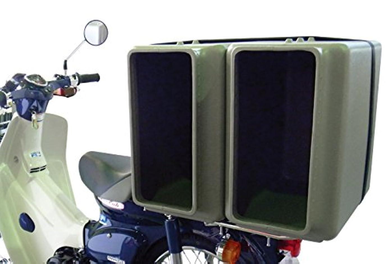アラバマ蓋解凍する、雪解け、霜解けバイク配達用 デリボックス