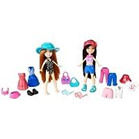 [ポリー ポケット]Polly Pocket Day At Sea Kerstie and Lea Fashion Bag W5957 [並行輸入品]