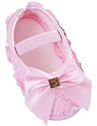 Zhhlinyuan 安定した品質 Cute Girls ベビー Soft Sole Shoes Toddler Silk Crib Shoes Princess shoes