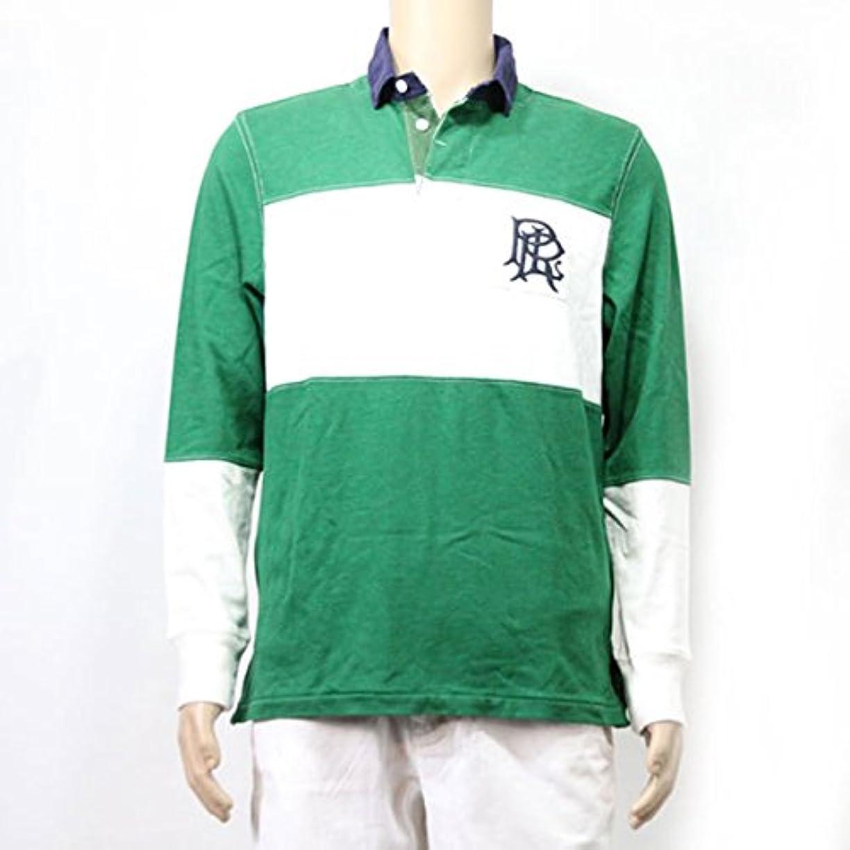 豊富間欠チャンピオンシップ[ポロ ラルフローレン] POLO RALPH LAUREN 正規品 メンズ 長袖ラガーシャツ Custom-Fit Cotton Rugby 並行輸入品 (コード:4075880524)