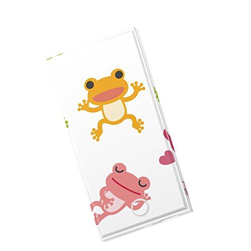 モバイルバッテリー iPhone6s iPhone6 Plus スマホ 充電器 モバブ スマートフォン 大容量 モバイル ブースター 携帯充電器 充電 8000mAh Panasonic製セル電池使用 Xperia Galaxy AQUOS iPad iQOS アニマル カエル 蛙 緑 グリーン 007872