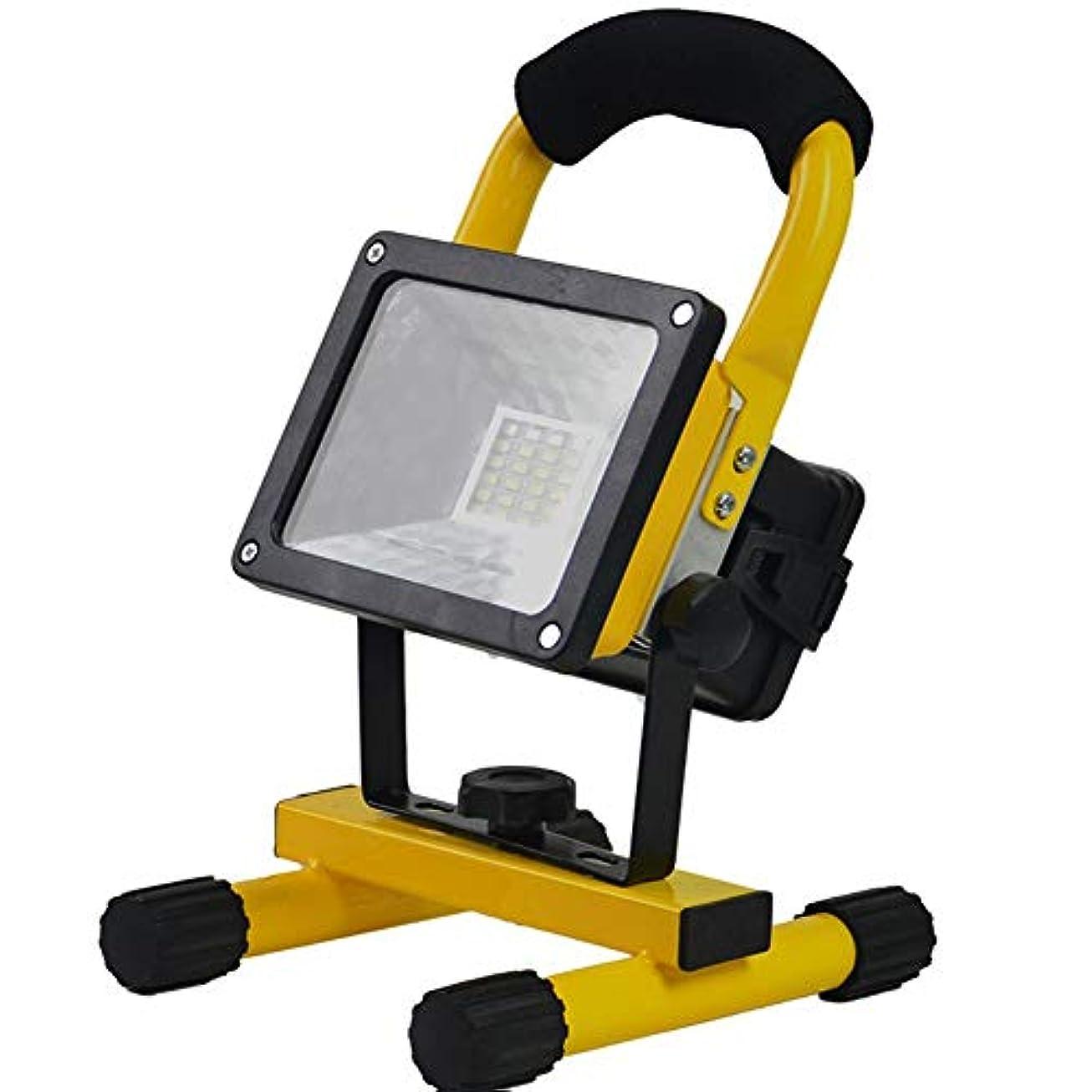 顎司書湿気の多いLED屋外緊急ポータブルキャンプライト フラッドライト 充電ライト 信号警告ワークライト