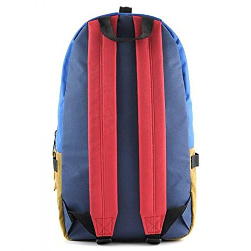 Supe Design Multicolor Day Backpack Pop Blueberry md005 (Size os) [並行輸入品]