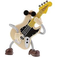 Perfk プラスチック製 ギターデザイン オルゴール 芸術的な オーナメント 置物