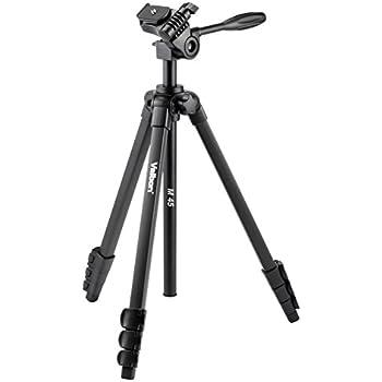 Velbon 三脚 M45 4段 レバーロック 脚径20mm 小型 3Way雲台 クイックシュー対応 アルミ脚 446626