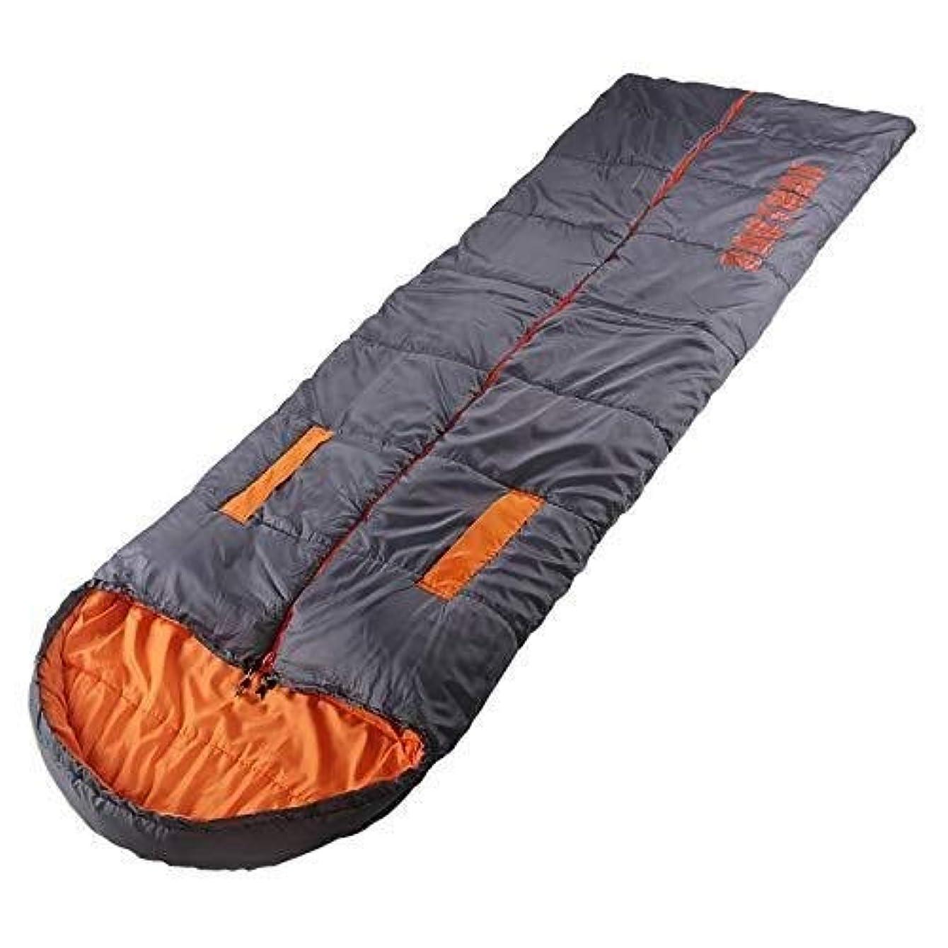 TLMYDD 旅行の寝袋、携帯用防水寝袋、オレンジ 寝袋