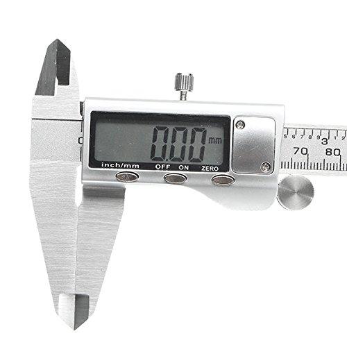 デジタルキャリパ 0-200 mm 0.01 mm のステンレススチール製の電子ノギスメトリック / インチを測定するツール