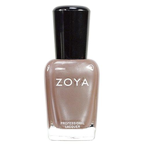 ZOYA ゾーヤ ネイルカラーZP280 PASHA パシャ 15ml シルバーの繊細なグリッターが輝くヌードベージュ パール/メタリック 爪にやさしいネイルポリッシュマニキュア