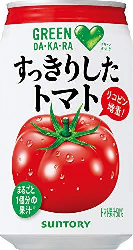 サントリー GREEN DAKARAすっきりしたトマト 350g缶×24本入 B072QCT8ZL 1枚目