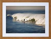 Sport Photo Surfing Surf Surfer Ocean Wave Sea Cool Framed Wall Art Print