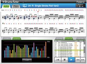 DT-1 ドラム譜モード