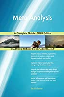 Meta Analysis A Complete Guide - 2020 Edition