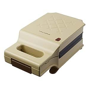レコルト プレスサンドメーカー キルト ベージュ RPS-1 (BE)