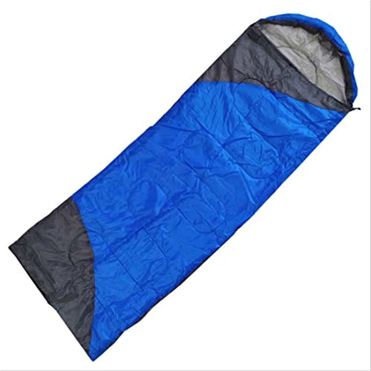 暴露する手錠ローブKoloeplf 封筒軽量ポータブル防水寝袋、秋、夏、春に最適 (Color : ブルー)