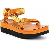 (テバ) Teva レディース シューズ・靴 サンダル・ミュール Flatform Universal Velvet Platform Sandal [並行輸入品]