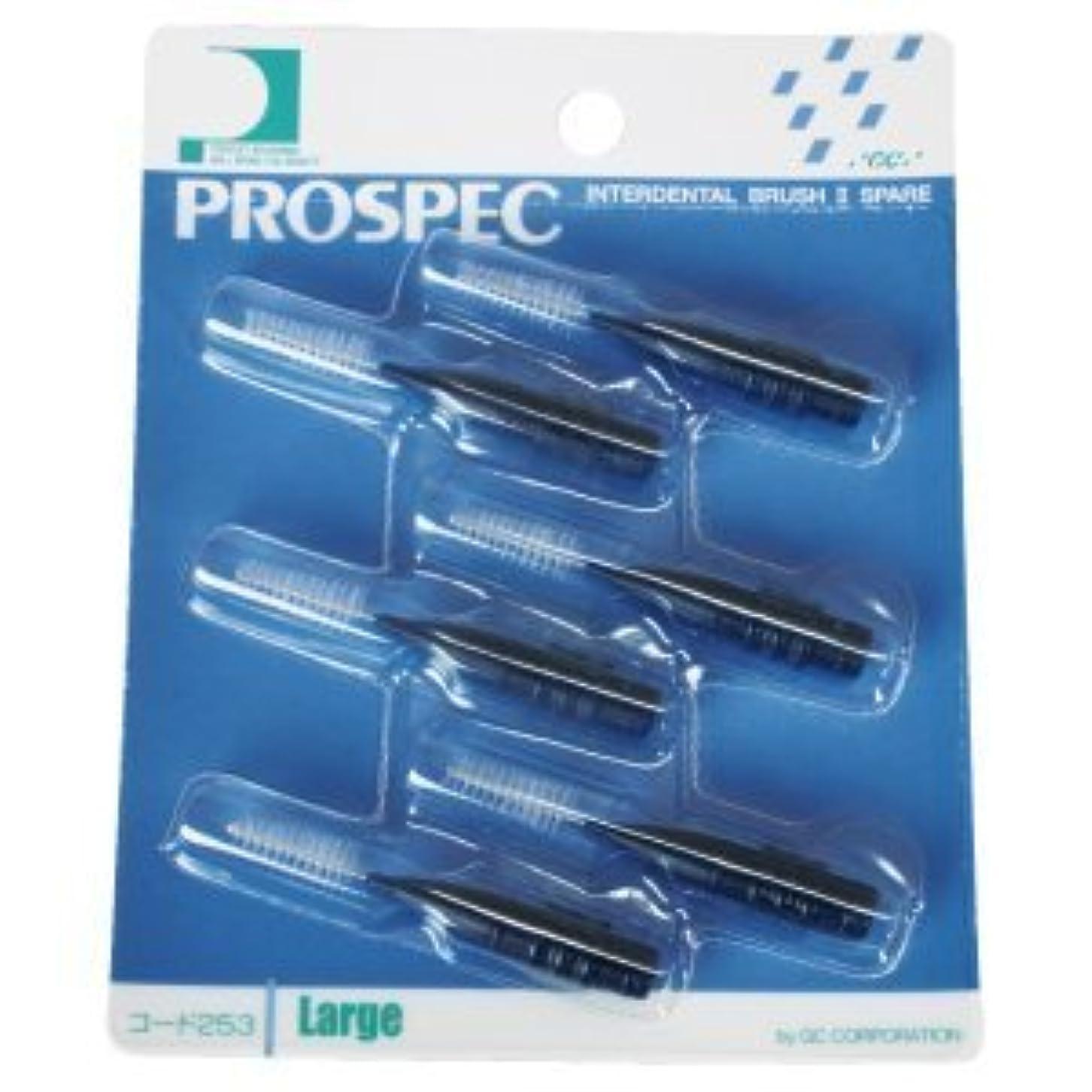 観察するキャラバンピカソプロスペック 歯間ブラシII スペアー/L/1パック(6本入り)