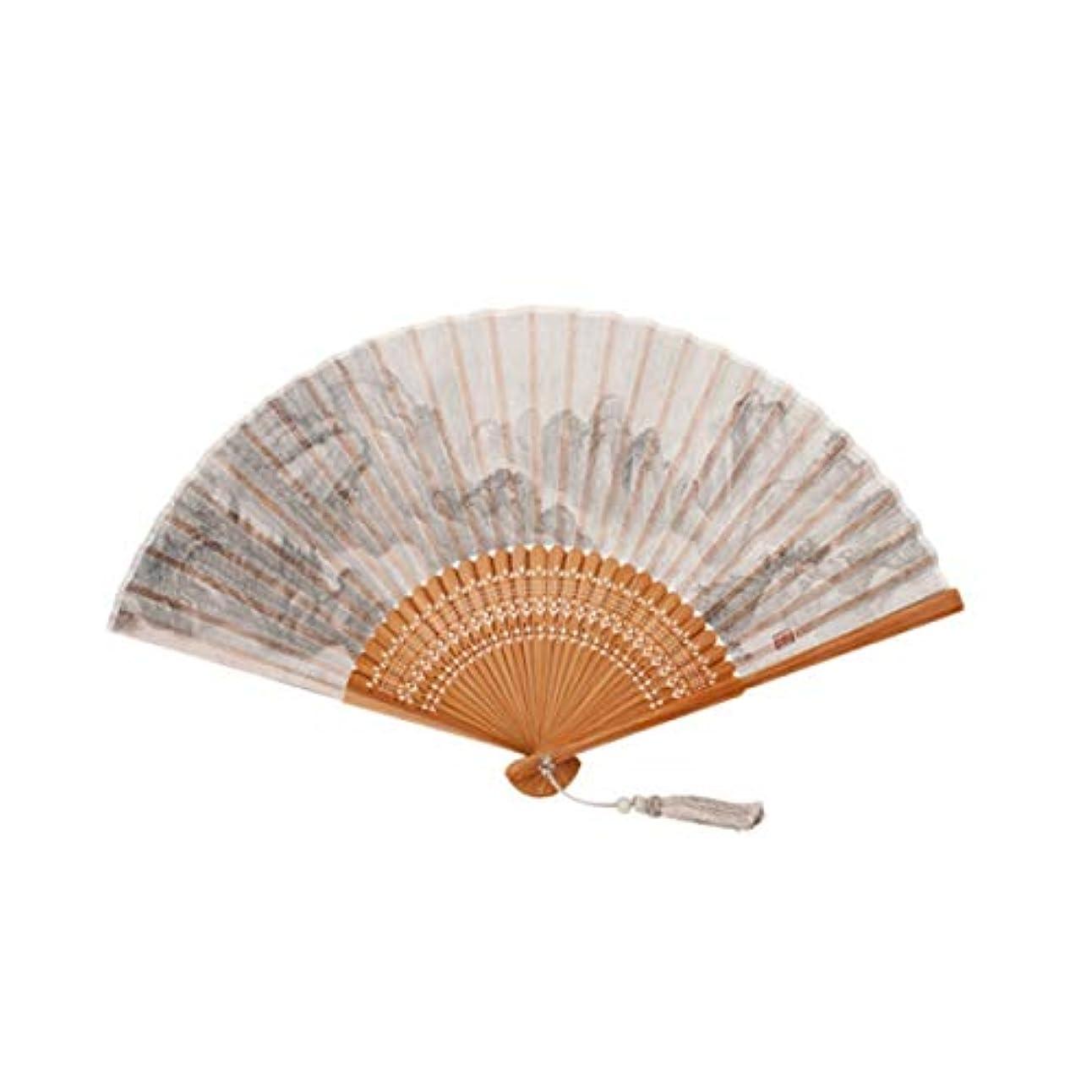 第二に符号までKATH アート扇子、シルクファン、中国のファンのギフト、扇子