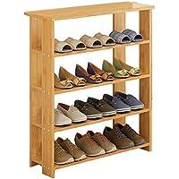 竹靴ラックダストフラット多層靴キャビネットシンプルなラックストレージシューズラック (サイズ さいず : 60 cm 60 cm)