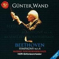 Mozart: Posthornserenade & Beethoven by Gunter Wand (2012-03-06)