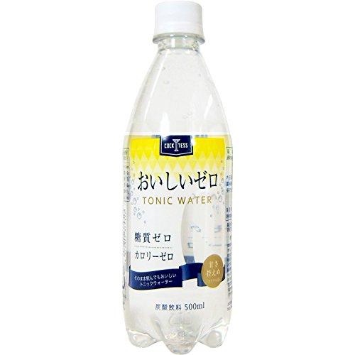 木村飲料 カクテス おいしいゼロトニックウォーター 500ml...