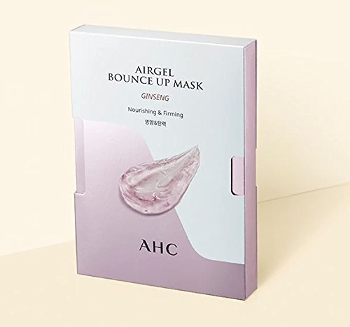 スラダムペルメル懺悔[A.H.C] Airgel Bounce Up Mask GINSENG (Nourishing&Firming)30g*5sheet/ジンセンエアゲルマスク30g*5枚 [並行輸入品]