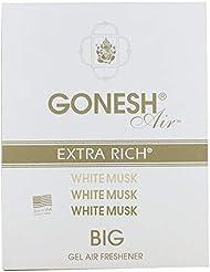 GONESH ビッグゲルエアフレシュナー ホワイトムスク