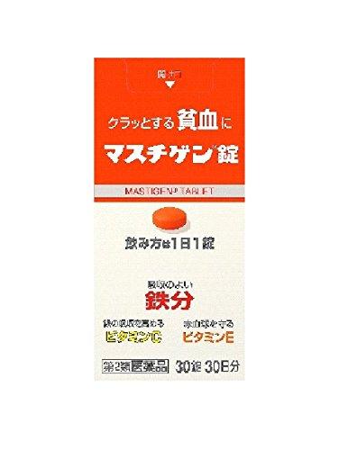 【第2類医薬品】マスチゲン錠 30錠