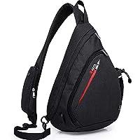 KAKA Sling Bag - Crossbody Backpack for Women & Men