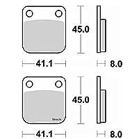ブレーキング BRAKING ブレーキパッド セミメタル 703 703-52 703SM1