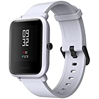 Amazfit Bip スマートウォッチ スマートブレスレット 1.28インチ 時計 心拍計 歩数計 IP68防水防塵 日本語アプリ Bluetooth接続 着信電話通知/Twitter/WhatsApp/Line通知/座りリマインダー