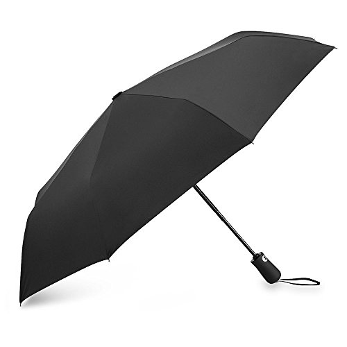 Ubegood 折り畳み傘 ワンタッチ自動開閉 210T高強度グラスファイバー Teflon撥水加工 耐強風 コンパクトで軽量的 晴雨兼用 収納ケース付き