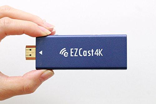 EZCast 4K(イージーキャスト4K)【日本語版】【技適マーク取得済み】【2年保証】