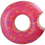 YOKELLMUX 浮き輪 可愛い ケーキ  子供用 大人用 プール お風呂 強い浮力 スイミングリング 水泳 水遊び プールパーティー 救命ブイ 快速エアバルブ 80cm
