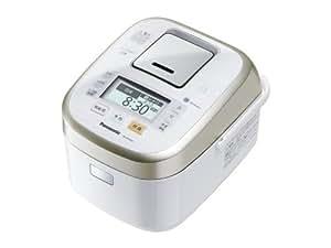 パナソニック Wおどり炊き スチーム&可変圧力IHジャー炊飯機 1.0L 0.5~5.5合 ホワイト SR-SPX104-W
