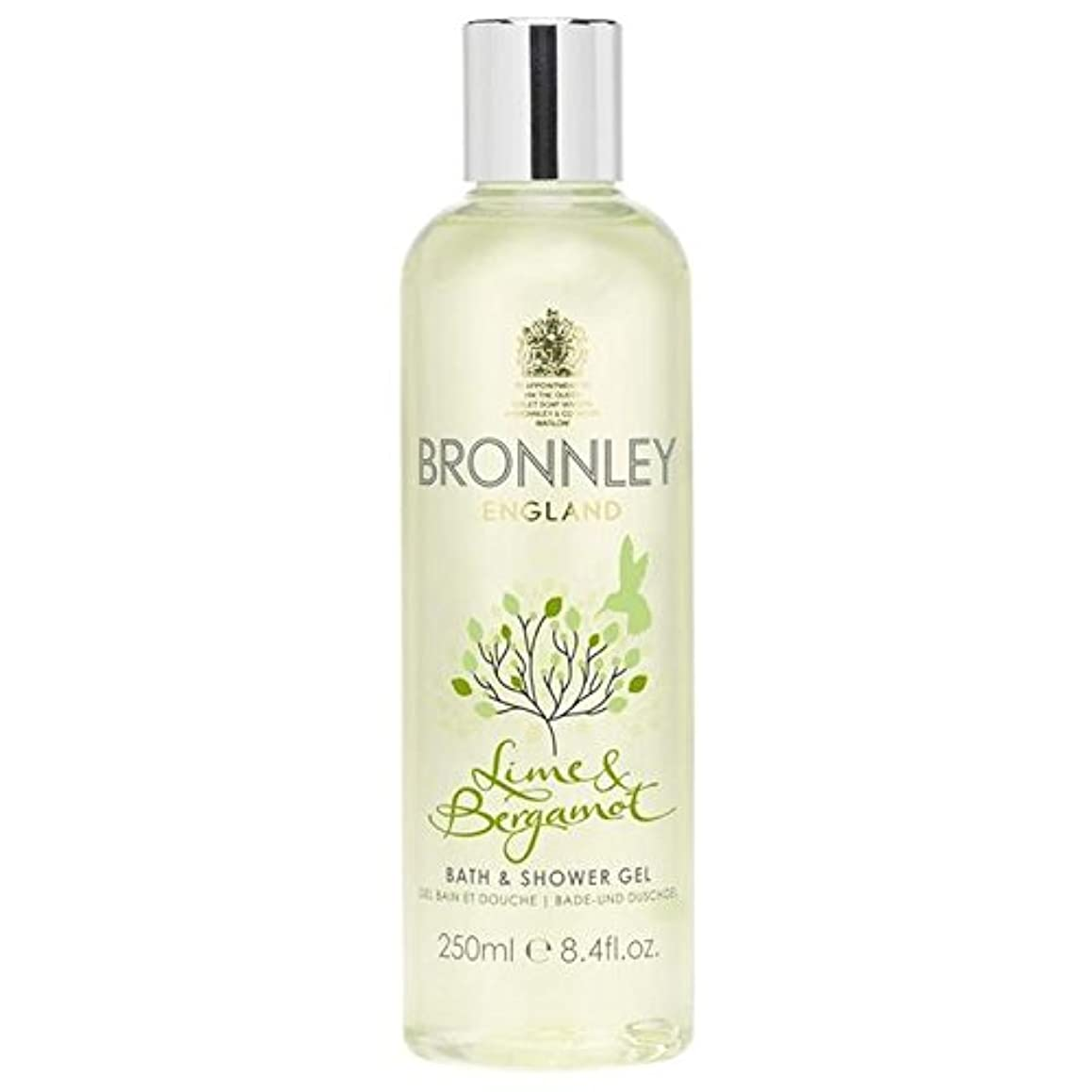 事業内容記念碑作者Bronnley Lime & Bergamot Bath & Shower Gel 250ml - ライム&ベルガモットバス&シャワージェル250ミリリットル [並行輸入品]