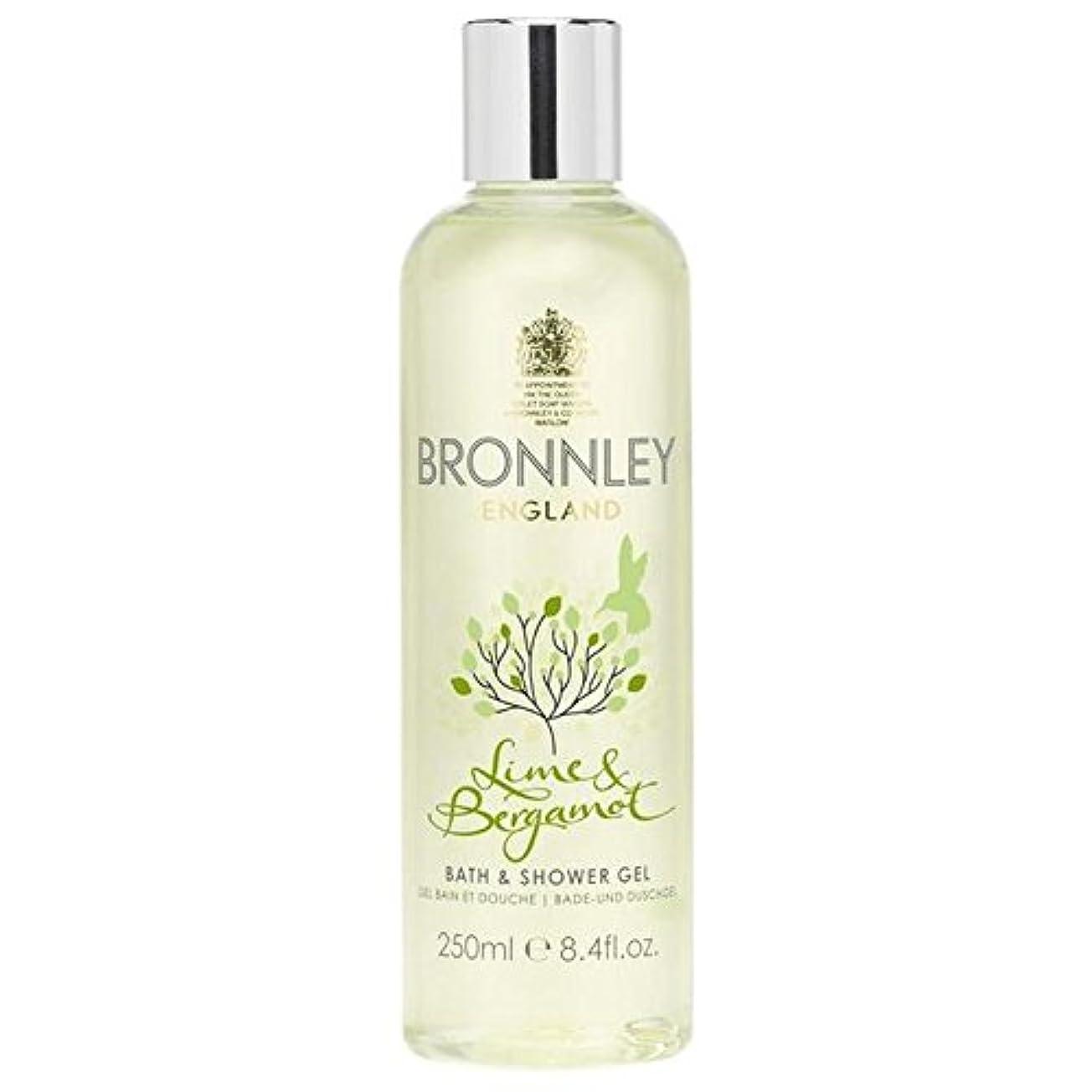 ブーストあいまい海藻Bronnley Lime & Bergamot Bath & Shower Gel 250ml - ライム&ベルガモットバス&シャワージェル250ミリリットル [並行輸入品]