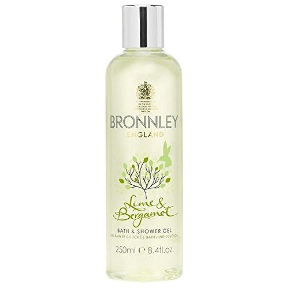 読者ホームレス消えるBronnley Lime & Bergamot Bath & Shower Gel 250ml - ライム&ベルガモットバス&シャワージェル250ミリリットル [並行輸入品]