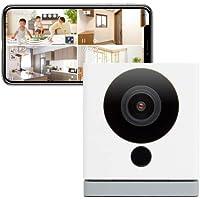【Amazon Alexa 認定取得】ネットワークカメラ ATOM Cam(アトムカム):1080p フルHD 高感度CMOSセンサー搭載 赤外線ナイトビジョン 動作検知アラート機能 防犯カメラ/ペットカメラ/見守りカメラ/ベビーモニター ATOM tech製