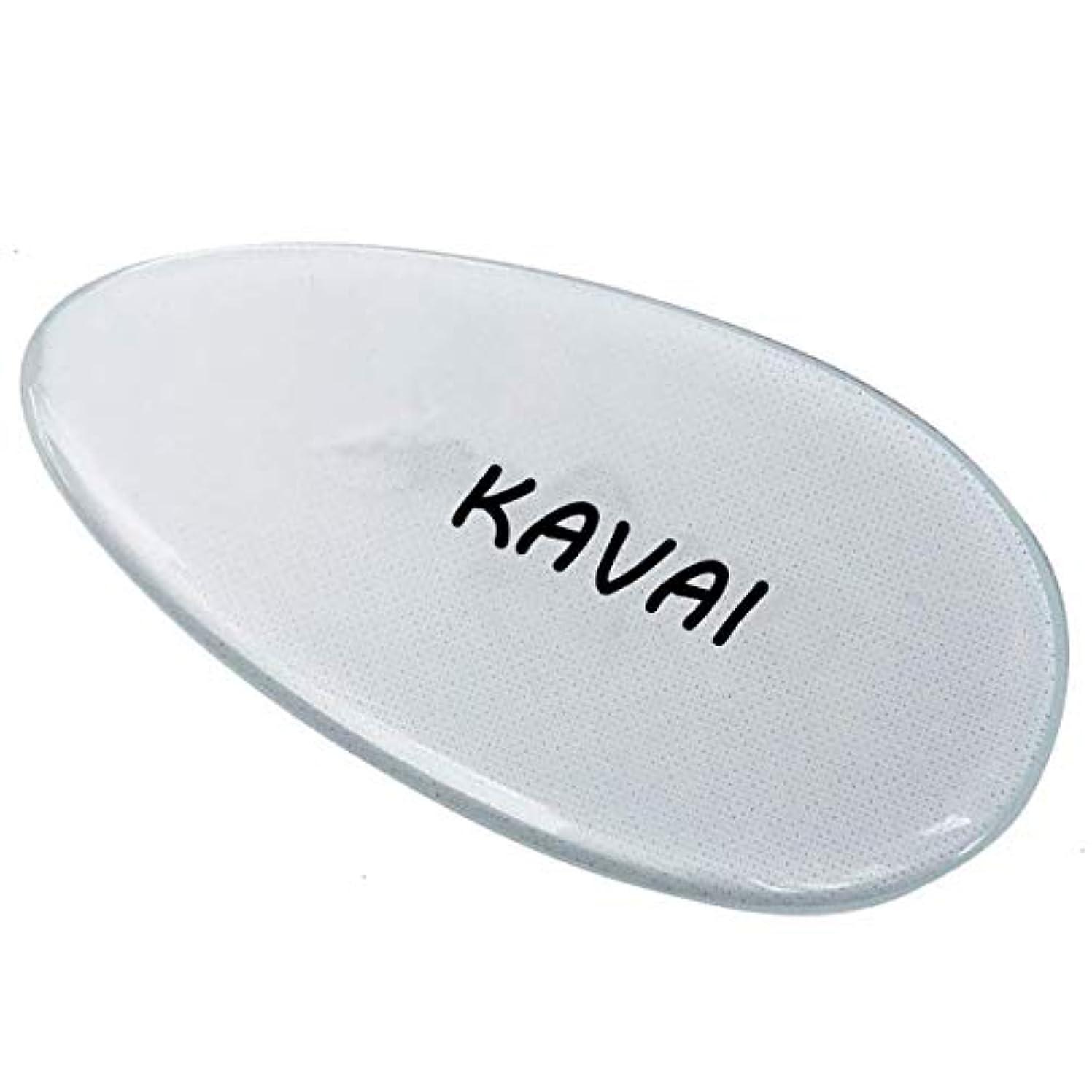 試み包帯理論的Kavai かかと削り, かかと 角質取り ガラス, ガラス製かかとやすり 足 かかと削り かかと削り かかと磨き ガラス製 爪やすり (かかと削り)
