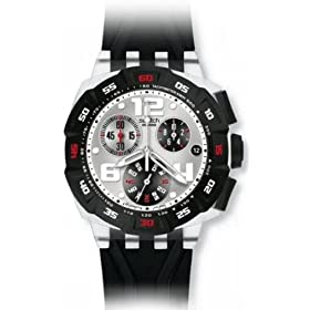 swatch (スウォッチ) 腕時計 LEGENDARY EAGLE ホワイト Chrono Plastic SUIK400