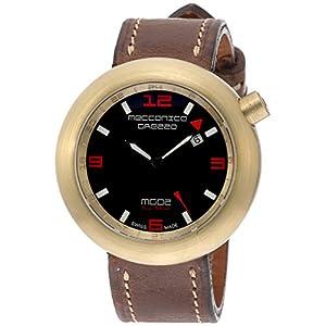 [メカニカグレッツァ]MECCANICA GREZZA イタリア国防省認定ブランド MG02 Sea Gold GMT-S ムーブメント ETA-2893-2 02SG-GMT-S 【正規輸入品】