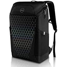 DELL Gaming Backpack 17, Black with Rainbow Reflective Front Panel, 460-BCZE