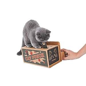 猫 おもちゃ SEPO モグラ叩き もぐらたたき 紙箱 取り付けやすい 猫遊び ペット用品