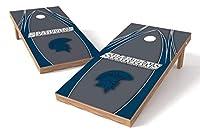 Proline NCAAカレッジ2' x 4' Alaska Anchorage Seawolves Cornholeボードセット–エッジ