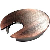 """2.5""""メタルデスクグロメット–カラー:アンティーク銅"""